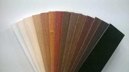 Puukaihtimien värikartta